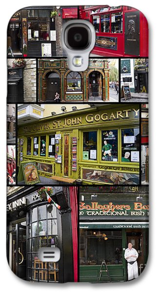 Interface Galaxy S4 Cases - Pubs of Dublin Galaxy S4 Case by David Smith
