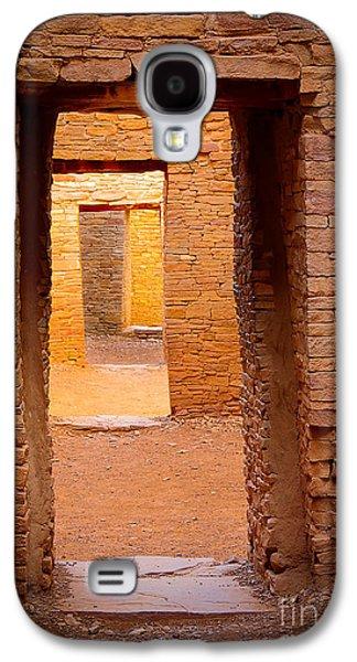 Landscapes Photographs Galaxy S4 Cases - Pueblo Doorways Galaxy S4 Case by Inge Johnsson