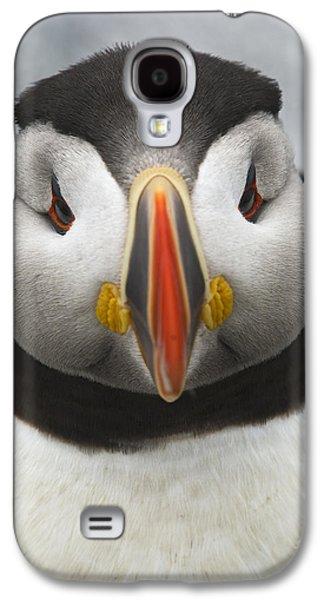 Puffin It Up... Galaxy S4 Case by Nina Stavlund