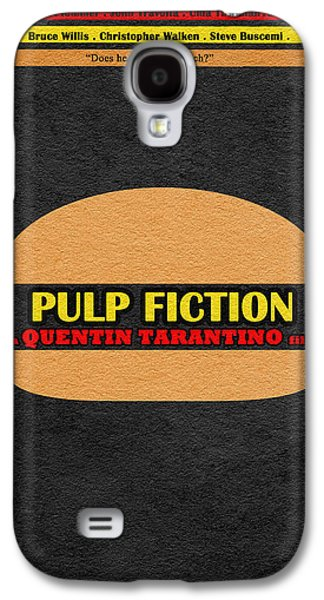 Pulp Fiction Galaxy S4 Case by Ayse Deniz