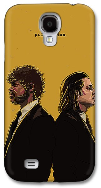 Digital Galaxy S4 Cases - Pulp Fiction Galaxy S4 Case by Jeremy Scott