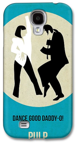 Celebrities Galaxy S4 Cases - Pulp Fiction Poster 2 Galaxy S4 Case by Naxart Studio