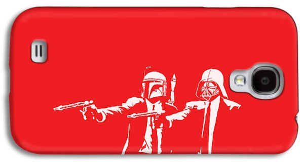 Movie Galaxy S4 Cases - Pulp Wars Galaxy S4 Case by Patrick Charbonneau