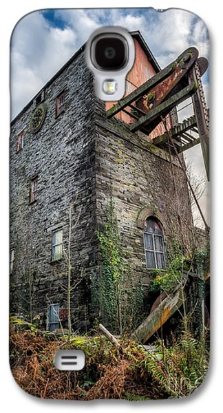 Dilapidated Digital Galaxy S4 Cases - Pump House Galaxy S4 Case by Adrian Evans