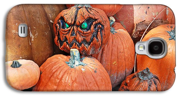 Recently Sold -  - Creepy Galaxy S4 Cases - Pumpkin Patch Galaxy S4 Case by Aimee L Maher Photography and Art