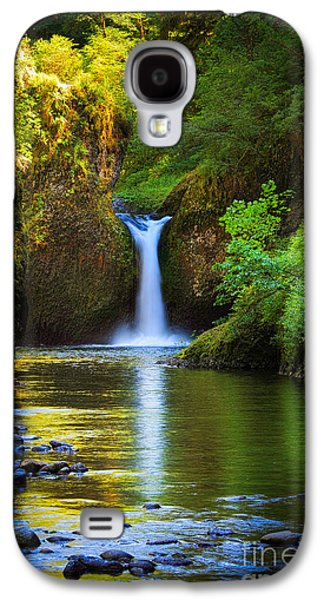 North America Photographs Galaxy S4 Cases - Punchbowl Falls Galaxy S4 Case by Inge Johnsson