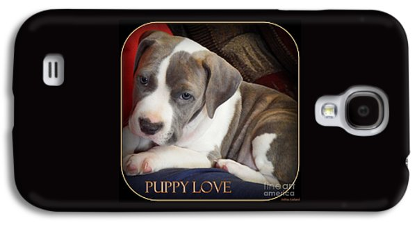 Puppies Digital Galaxy S4 Cases - Puppy Love Galaxy S4 Case by Bobbee Rickard