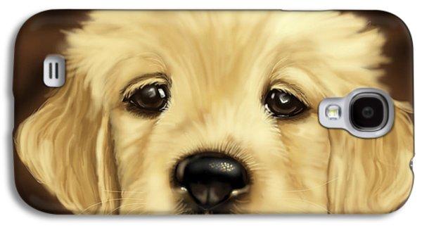 Puppy Galaxy S4 Case by Veronica Minozzi