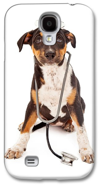 Puppy Veterinarian Galaxy S4 Case by Susan  Schmitz