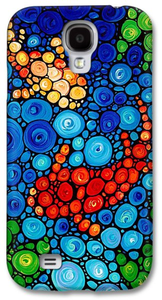Fish Pond Galaxy S4 Cases - Pure Koi Joi Galaxy S4 Case by Sharon Cummings