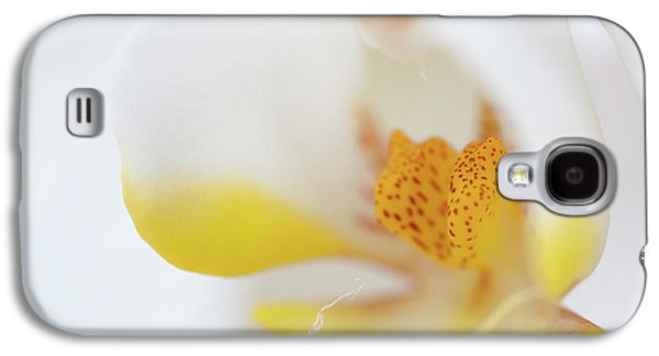 Yellow Galaxy S4 Cases - Pure White Galaxy S4 Case by Sebastian Musial
