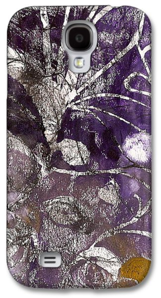 Abstract Nature Reliefs Galaxy S4 Cases - Purity is Passion Galaxy S4 Case by Claudia Smaletz