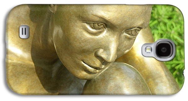 Nudes Sculptures Galaxy S4 Cases - Purity Galaxy S4 Case by J Anne Butler