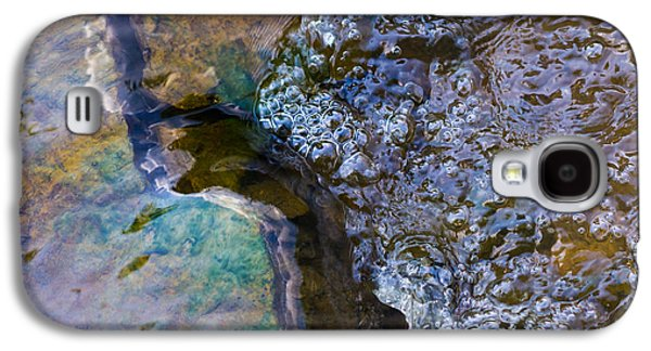 Effervescence Galaxy S4 Cases - Purl Of A Brook 1 - Featured 3 Galaxy S4 Case by Alexander Senin