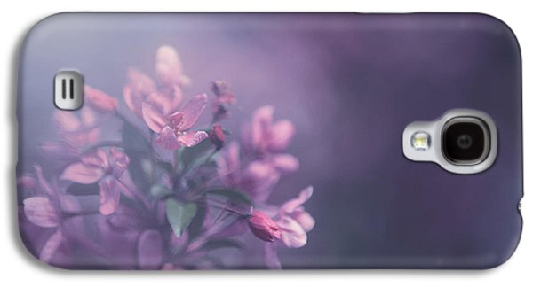 Purple Galaxy S4 Case by Carrie Ann Grippo-Pike