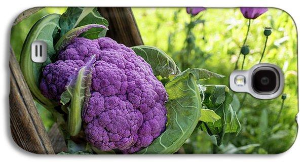 Purple Cauliflower Galaxy S4 Case by Aberration Films Ltd