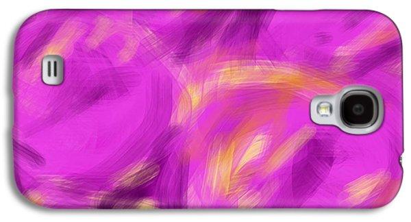 Etc. Digital Art Galaxy S4 Cases - Purple Fruit Galaxy S4 Case by James Eye