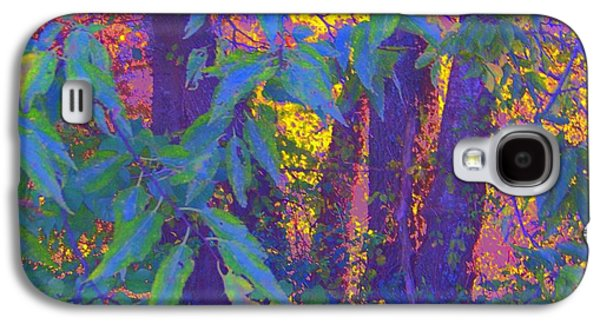 Buy Galaxy S4 Cases - Purple Green Gold Galaxy S4 Case by Shirley Moravec