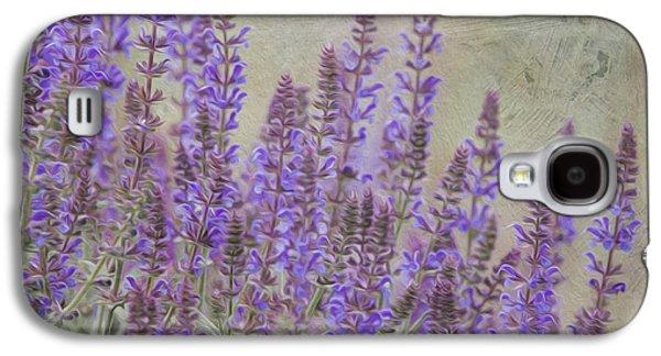 Jeff Swanson Galaxy S4 Cases - Purple Haze Galaxy S4 Case by Jeff Swanson