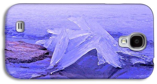 Randi Shenkman Galaxy S4 Cases - Purple Ice Galaxy S4 Case by Randi Shenkman