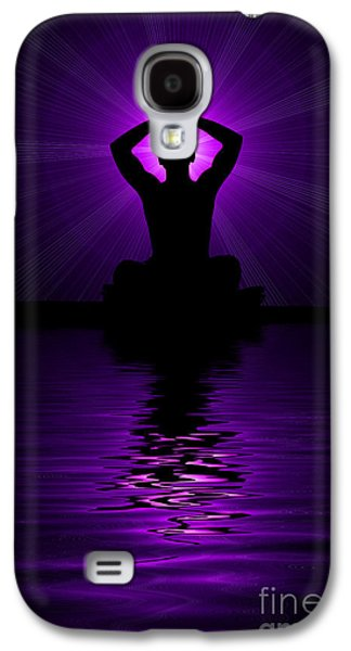 Thoughtful Photographs Galaxy S4 Cases - Purple prayer Galaxy S4 Case by Tim Gainey
