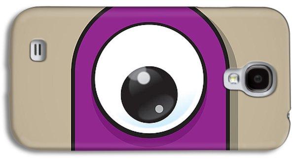 Eye-catching Galaxy S4 Cases - Purple Galaxy S4 Case by Samuel Whitton