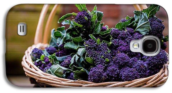 Purple Sprouting Broccoli Galaxy S4 Case by Aberration Films Ltd