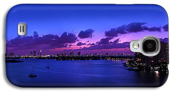 4th July Galaxy S4 Cases - Purple Sunset Galaxy S4 Case by Michael Guirguis