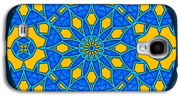 Folkloric Galaxy S4 Cases - Pursuit Of Happiness Mandala Galaxy S4 Case by Georgiana Romanovna