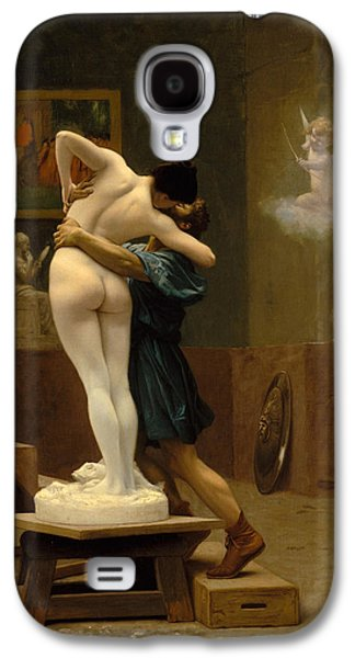 Gerome Galaxy S4 Cases - Pygmalion and Galatea Galaxy S4 Case by Jean-Leon Gerome