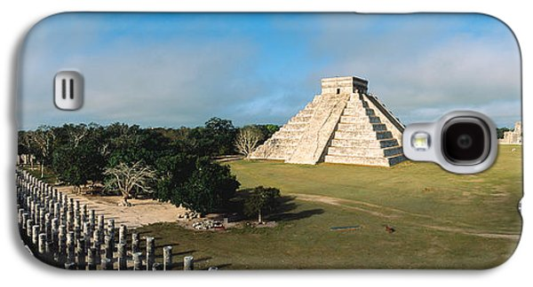 Pyramid Chichen Itza Mexico Galaxy S4 Case by Panoramic Images