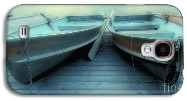 Quiet Time Photographs Galaxy S4 Cases - Pyramid Lake Row Boats Galaxy S4 Case by Bob Christopher