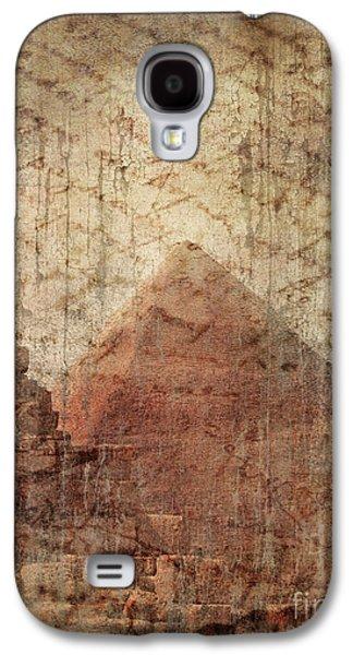 Torn Pyrography Galaxy S4 Cases - Pyramid Mystery Galaxy S4 Case by Jelena Jovanovic