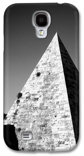 Architecture Photographs Galaxy S4 Cases - Pyramid of Cestius Galaxy S4 Case by Fabrizio Troiani