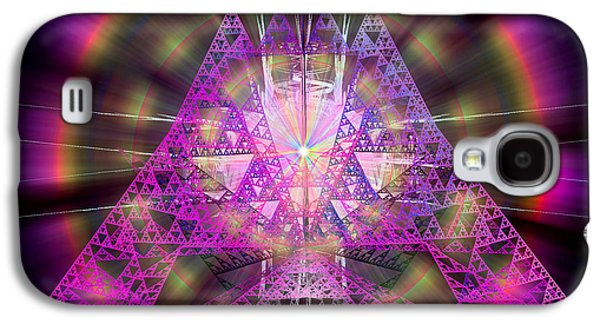 Abstract Movement Galaxy S4 Cases - Pyramidian Galaxy S4 Case by Michael Durst