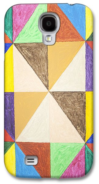 Abstract Forms Galaxy S4 Cases - Pyramids #2 Galaxy S4 Case by Stormm Bradshaw