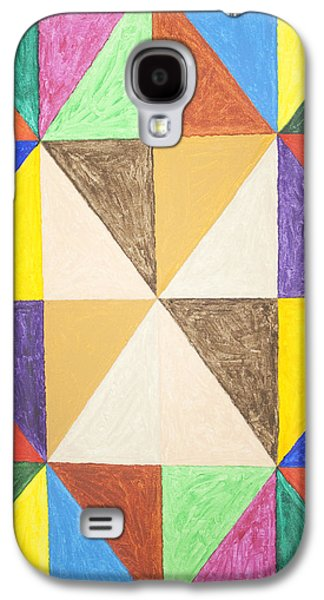 Recently Sold -  - Abstract Forms Galaxy S4 Cases - Pyramids #2 Galaxy S4 Case by Stormm Bradshaw
