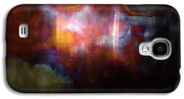Copper Galaxy S4 Cases - Pyro Genesis Galaxy S4 Case by Shahna Lax