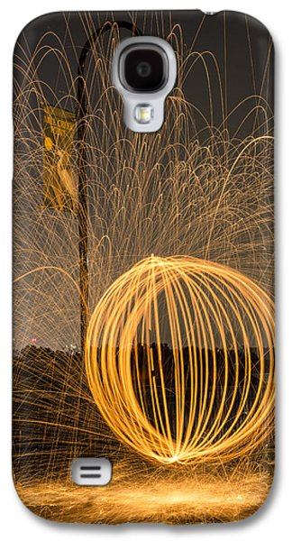 Pyrotechnics Galaxy S4 Cases - Pyrotechnics Galaxy S4 Case by Susan Candelario