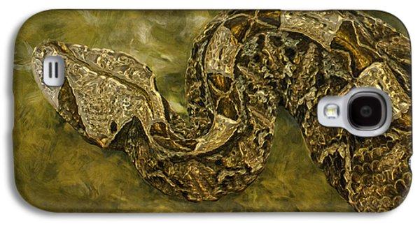 Painter Photo Galaxy S4 Cases - Python Galaxy S4 Case by Jack Zulli