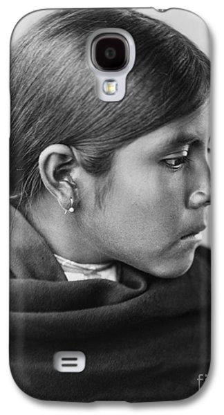 1907 Galaxy S4 Cases - Qahatika Girl Galaxy S4 Case by Aged Pixel