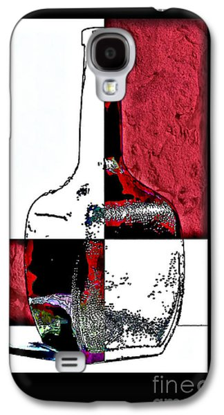Quad Galaxy S4 Cases - Quad Bottle Composite Abstract Galaxy S4 Case by Walt Foegelle