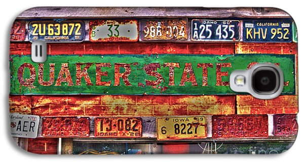 Quaker State Motor Oil Galaxy S4 Case by Frank Martin