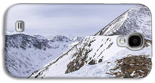 Unique View Galaxy S4 Cases - Quandary Peak Panorama Galaxy S4 Case by Aaron Spong