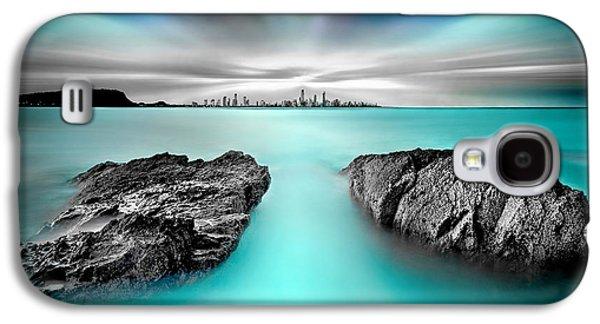 Miami Photographs Galaxy S4 Cases - Quantum Divide Galaxy S4 Case by Az Jackson