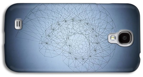 Einstein Drawings Galaxy S4 Cases - Quantum Nautilus Spotlight Galaxy S4 Case by Jason Padgett