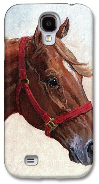 Quarter Horses Galaxy S4 Cases - Quarter Horse Galaxy S4 Case by Randy Follis