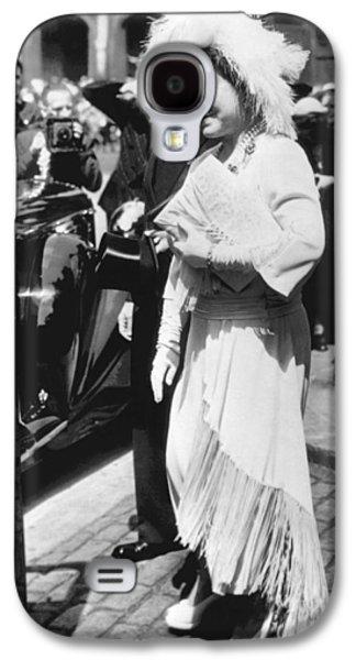 Queen Elizabeth Fashion Galaxy S4 Case by Underwood Archives