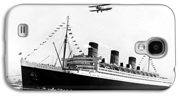 Queen Mary Maiden Voyage Galaxy S4 Case by Underwood Archives