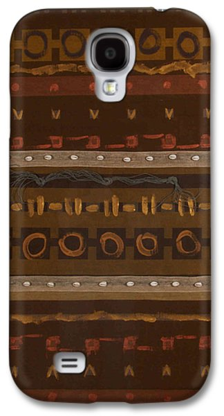 African-americans Tapestries - Textiles Galaxy S4 Cases - Queens Horizon Galaxy S4 Case by Angela Trent